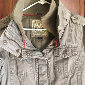 Women's military style jacket (Fox Brand) xs